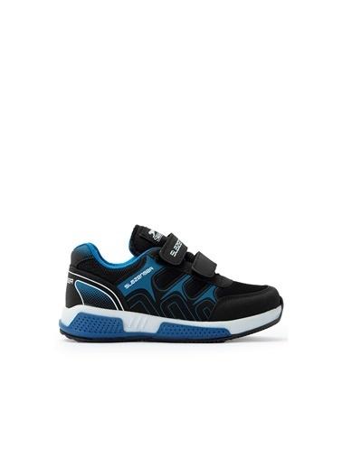 Slazenger Slazenger RAMOS Spor Çocuk Ayakkabı Haki Kamuflaj Siyah